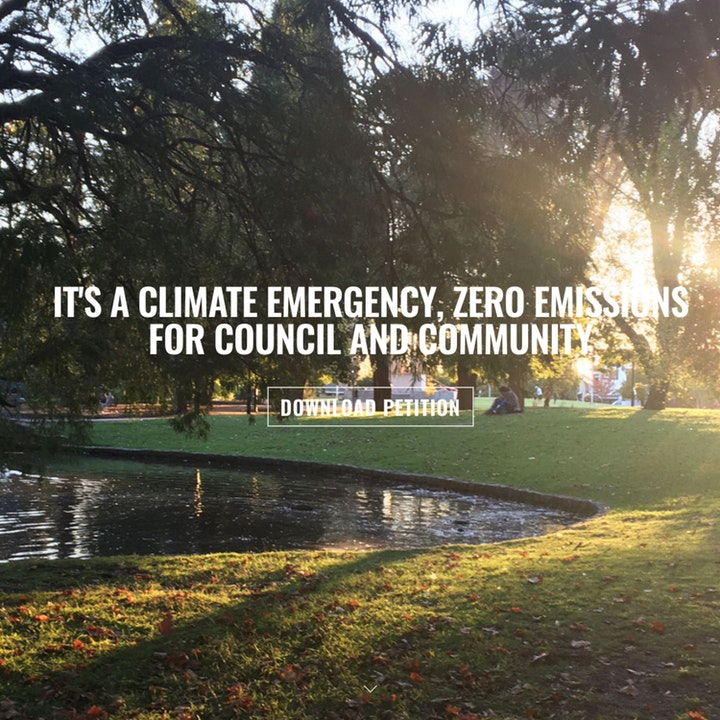 Glen Eira Declares a Climate Emergency 54 days into lockdown | Spotlight on community climate action