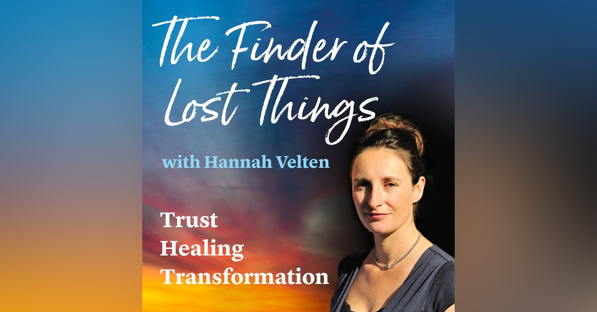 The Finder of Lost Things with Hannah Velten Newsletter Signup